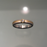Ring: Silber, Gold, Feingold, Brillant